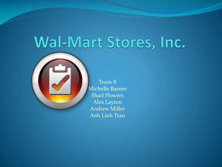 external factor analysis summary efas wal mart inc