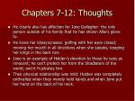 chapters 7 12 thoughts5