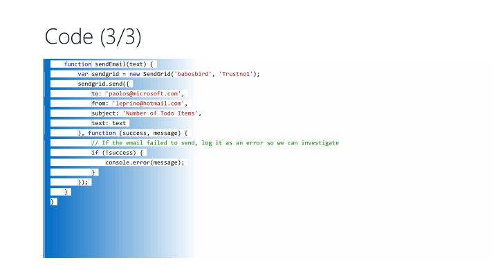 Code (3/3)