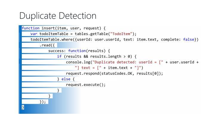 Duplicate Detection