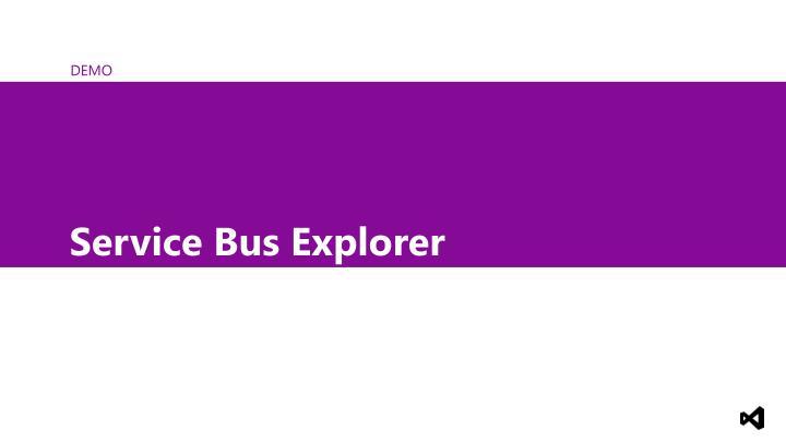 Service Bus Explorer