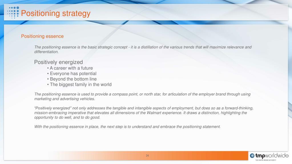 PPT - Walmart Employer Brand Positioning Strategy PowerPoint