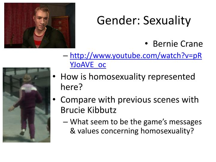 Gender: Sexuality