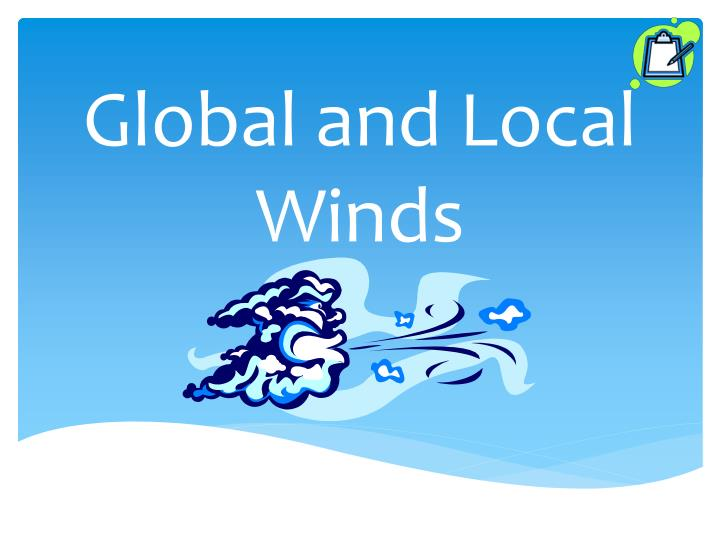 global and local winds n.