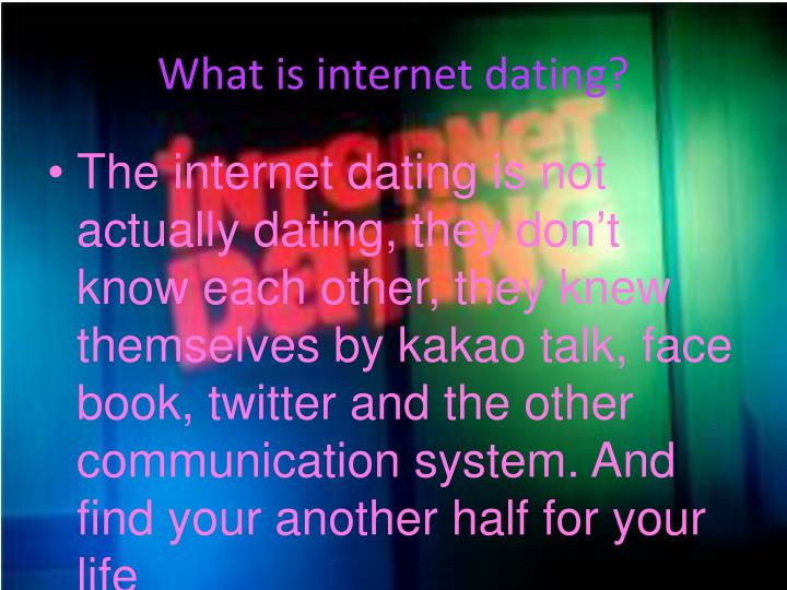 Dating powerpoint