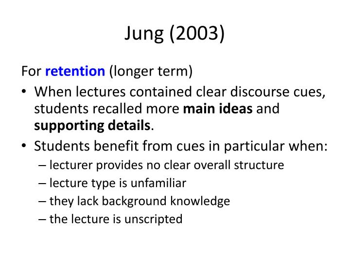 Jung (2003)