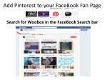 add pinterest to your facebook fan page