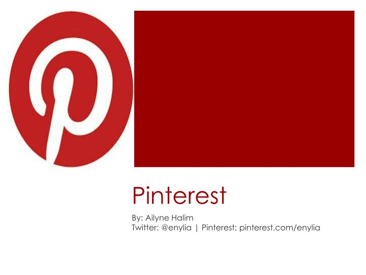 PPT - Pinterest PowerPoint Presentation - ID:1696485
