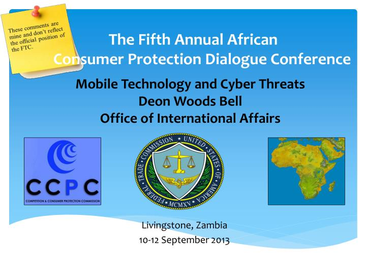 the fifth annual african consumer protection dialogue conference n.