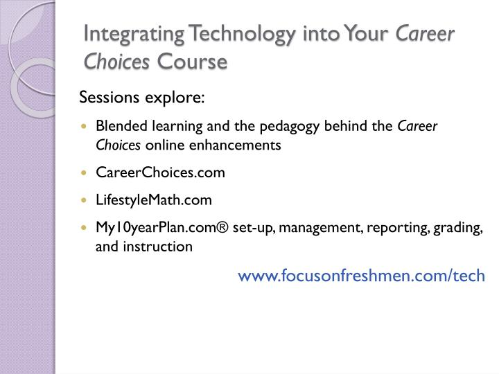 Integrating Technology into Your