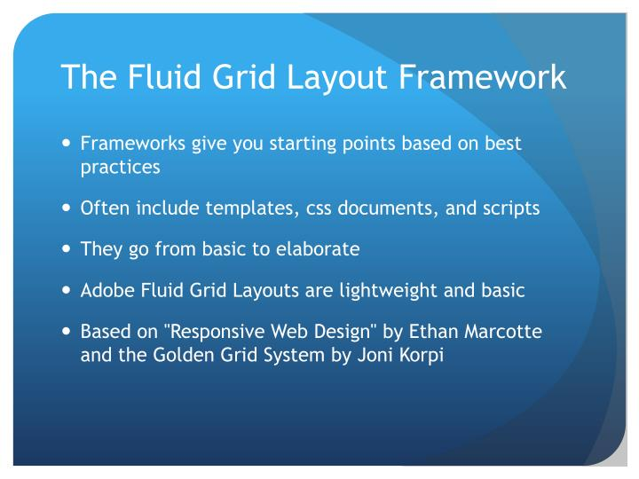 how to layout the grid buy framework