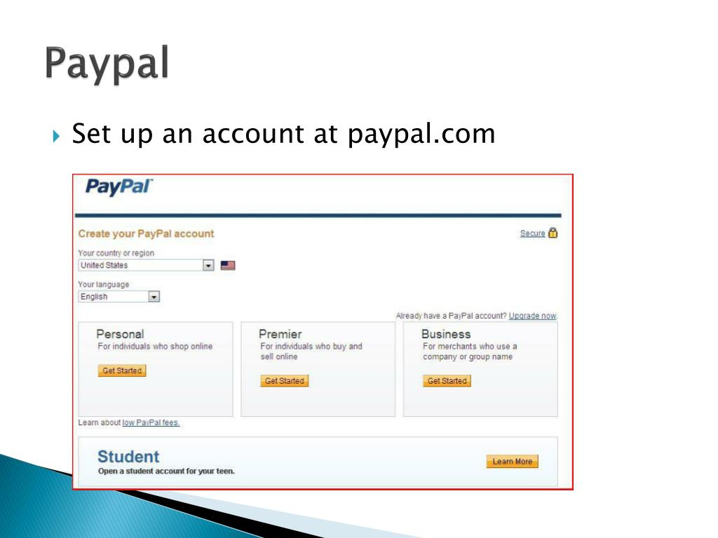 PPT - Paypal and eBay PowerPoint Presentation - ID:1696900