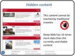 hidden content