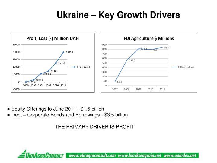 Ukraine – Key Growth Drivers
