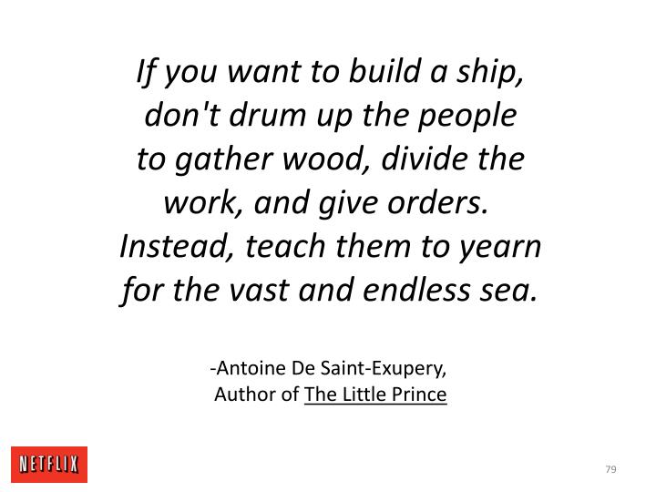 If you want to build a ship,