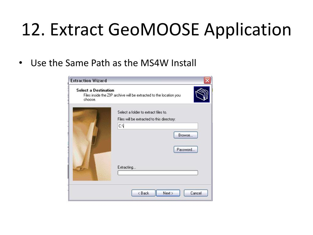 PPT - Introduction to GeoMOOSE: An easy to use and free Web