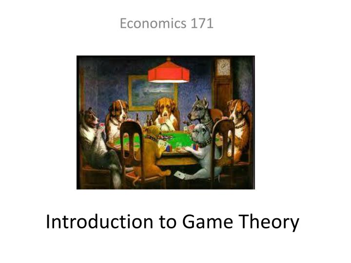 introduction to game theory n.