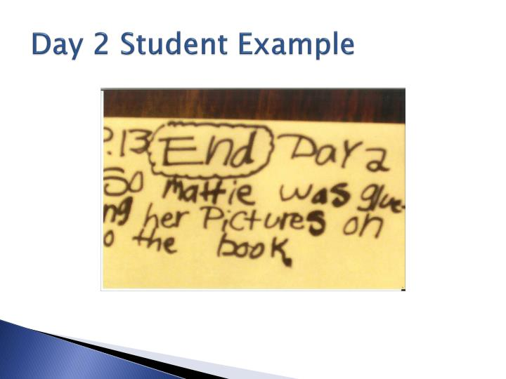 Day 2 Student Example