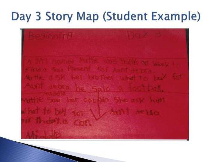 Day 3 Story Map (Student Example)