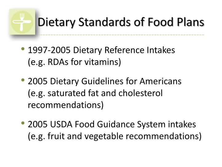 Ppt Usda Food Plans Powerpoint Presentation Id1697189