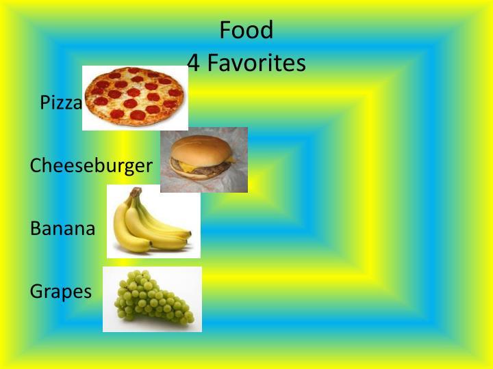 Food 4 favorites