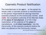 cosmetic product notification1