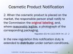 cosmetic product notification11