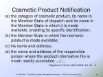 cosmetic product notification14