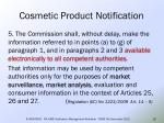 cosmetic product notification16