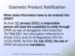 cosmetic product notification19