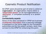 cosmetic product notification21