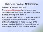 cosmetic product notification24