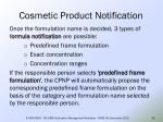 cosmetic product notification31