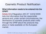 cosmetic product notification6