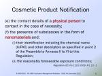 cosmetic product notification9