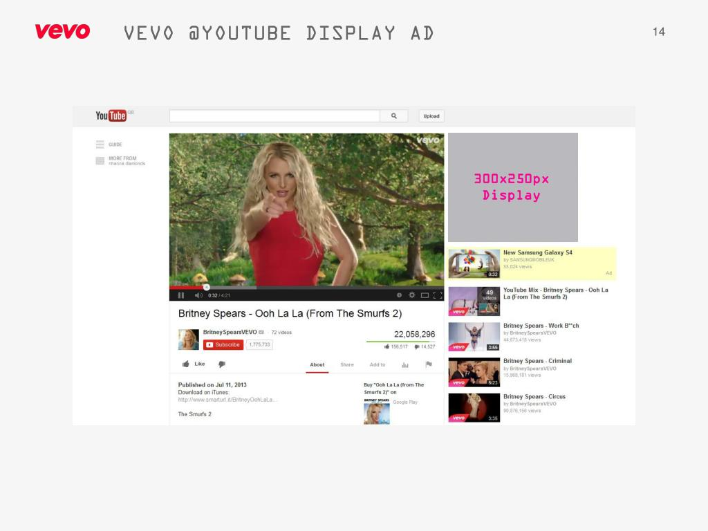 PPT - VEVO AD SPECIFICATIONS PowerPoint Presentation - ID