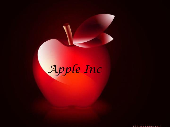 apple inc n.