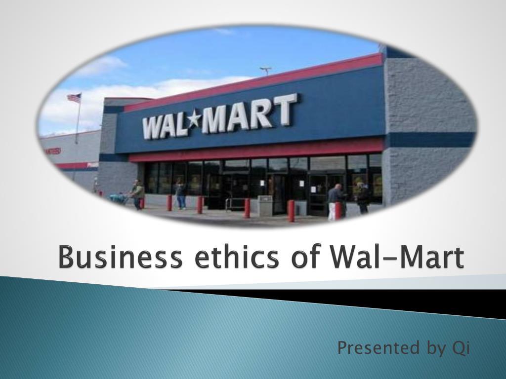 walmart unethical practices