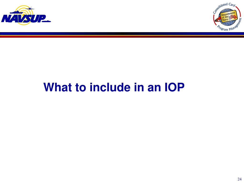PPT - DON Consolidated Card Program Management Division