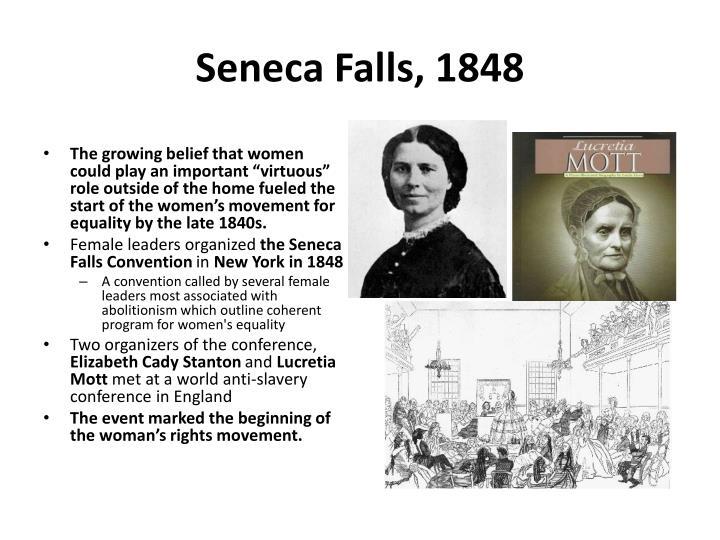 Seneca Falls, 1848