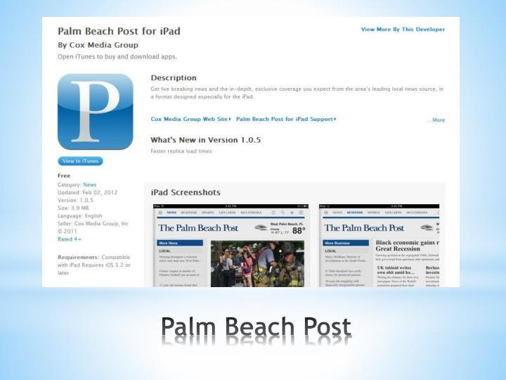 Palm Beach Post