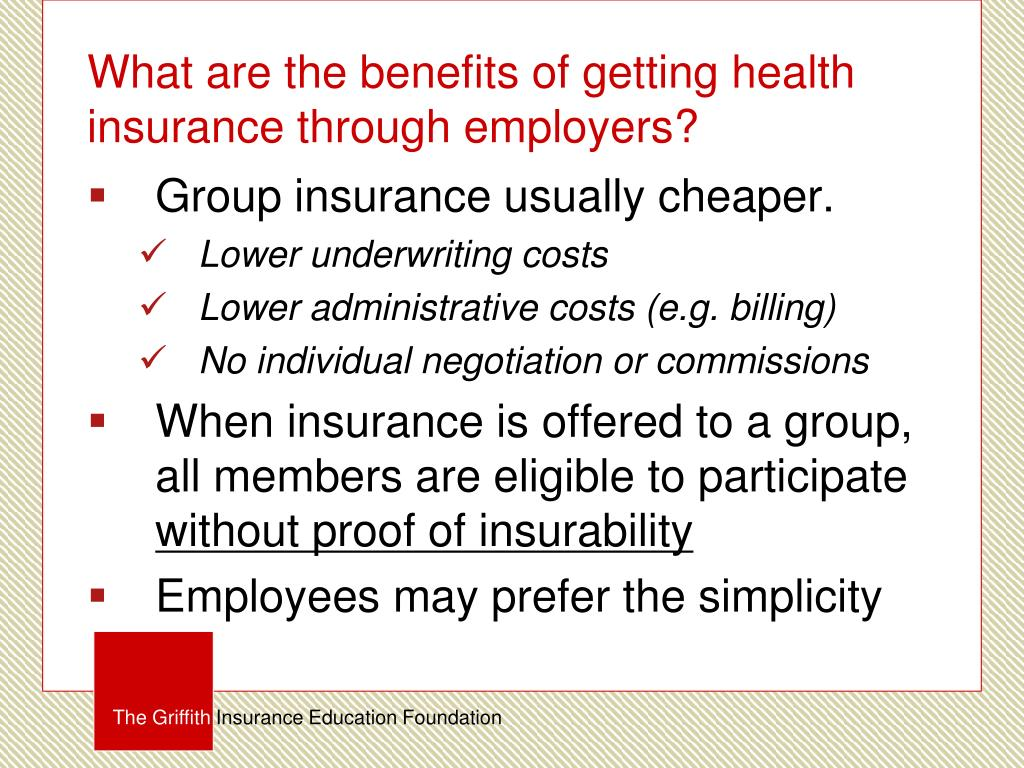 PPT - The Basic Principles of Health Insurance PowerPoint ...
