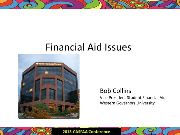 Financial Aid Issues