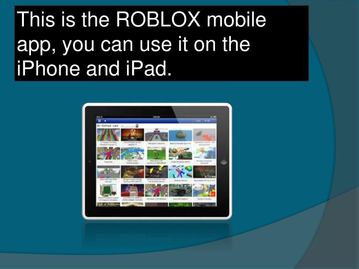 Ppt Roblox Powerpoint Presentation Id1697887