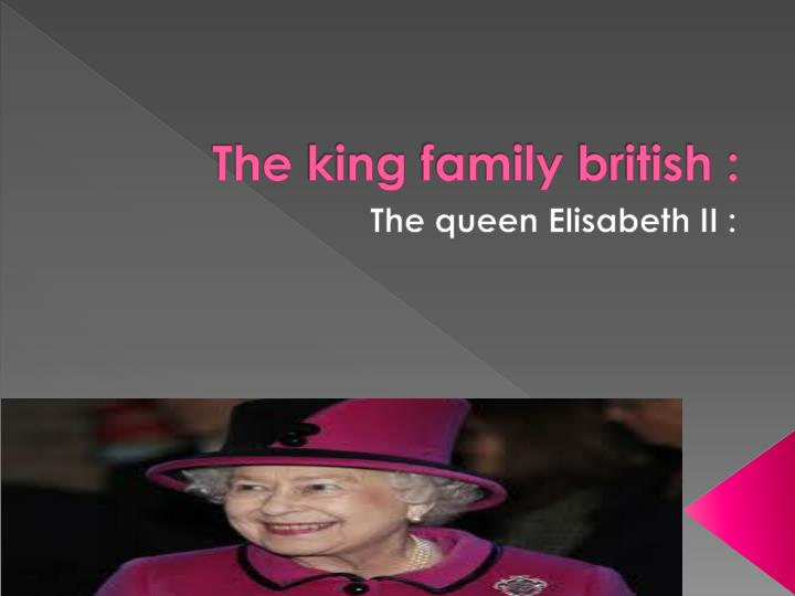 the king family british n.