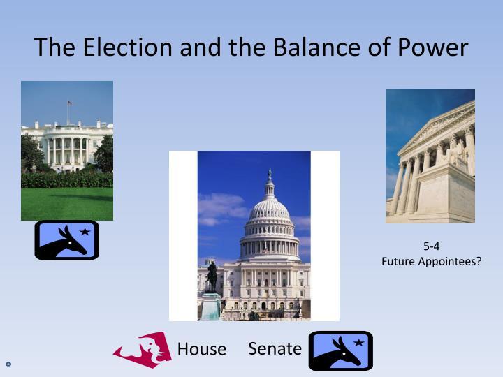 The Election and the Balance of Power
