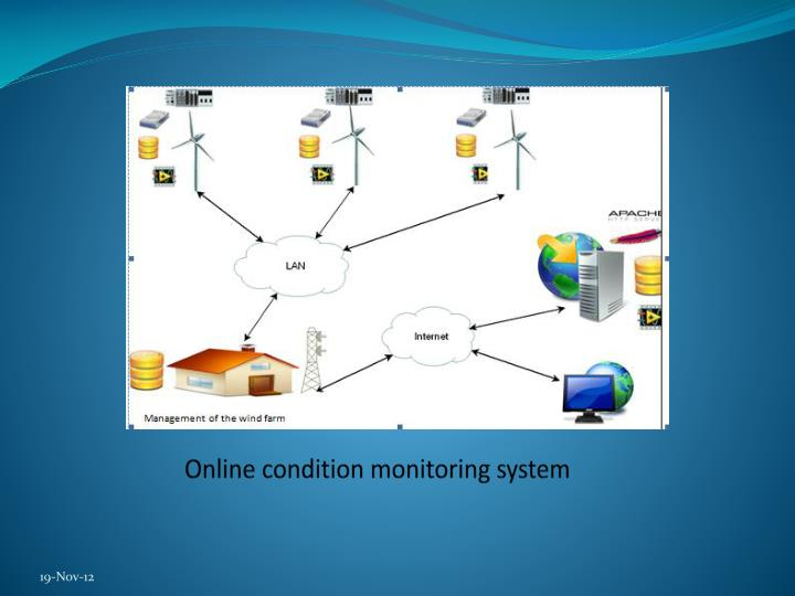 Online condition monitoring system
