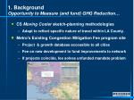 1 background opportunity to measure and fund ghg reduction