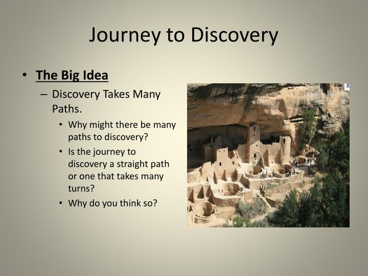 journey to discovery n.