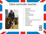 extra curricular courses